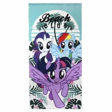 Kinder zwembad handdoek my little pony