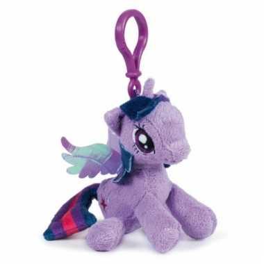 Lilapaarse my little pony tashanger knuffeltjes
