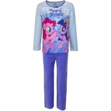 My little pony pyjama magical friends paars meisjes