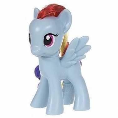 My little pony rainbow dash speelfiguur blauw
