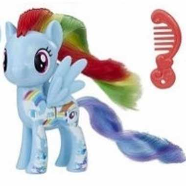 My little pony speelfiguur paardje rainbow dash