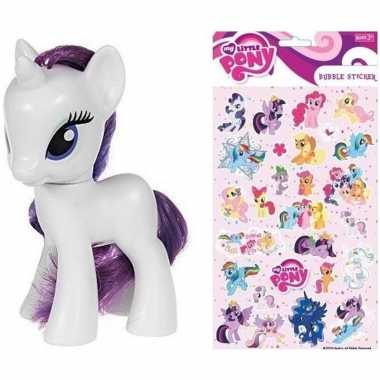 My little pony speelfiguur rarity stickers