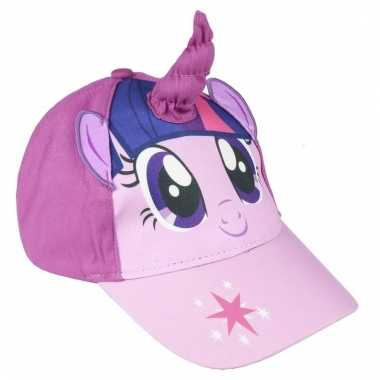 My little pony zomer petten/caps twilight sparkle meisjes