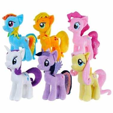 Oranje my little pony knuffel applejack
