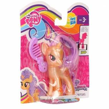 Oranje my little pony speelfiguur