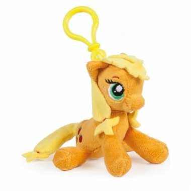 Oranje my little pony tashanger knuffeltjes