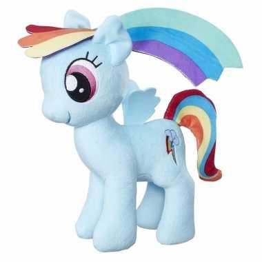 Pluche my little pony knuffel rainbow dash