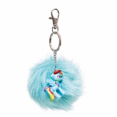 Pluche my little pony sleutelhanger rainbow dash