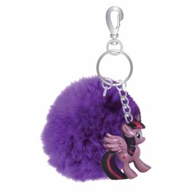 Pluche my little pony sleutelhanger twilight sparkle