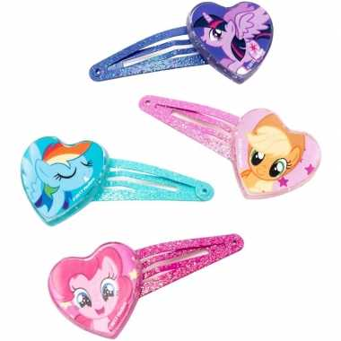 X my little pony haarclips meisjes