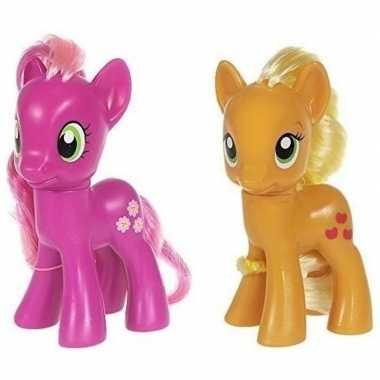 X my little pony speelfiguren set cheerilee/applejack