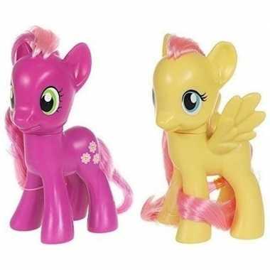 X my little pony speelfiguren set cheerilee/fluttershy