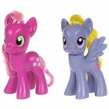 X my little pony speelfiguren set cheerilee/lily blossom