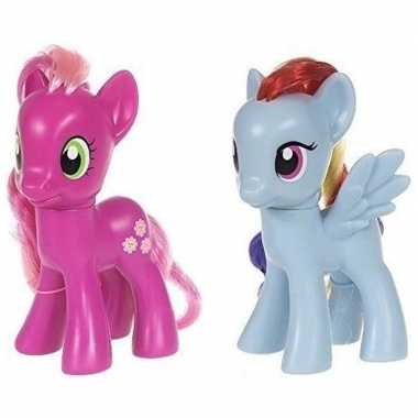 X my little pony speelfiguren set cheerilee/rainbow dash