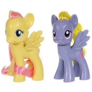 X my little pony speelfiguren set fluttershy/lily blossom