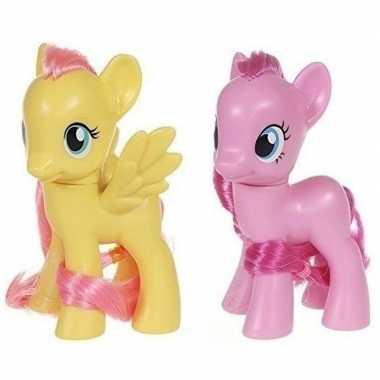 X my little pony speelfiguren set fluttershy/pinkie pie