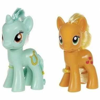 X my little pony speelfiguren set heartstrings/applejack