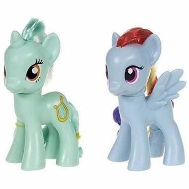 X my little pony speelfiguren set heartstrings/rainbow dash c