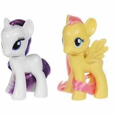 X my little pony speelfiguren set rarity/fluttershy