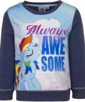 Blauwe my little pony trui twilight sparkle