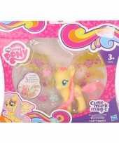 Geel my little pony speelfiguur