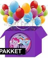 My little pony kinderfeestje pakket