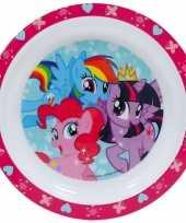 My little pony ontbijtset bord