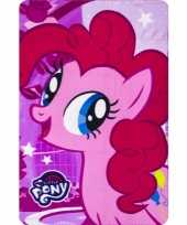 My little pony pinkie pie fleece deken plaid meisjes