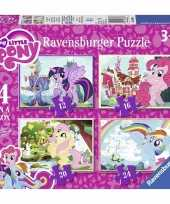 My little pony puzzel set stuks
