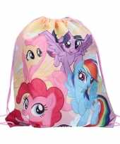 My little pony rugtas gymtas rijgkoord