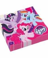 My little pony servetten stuks