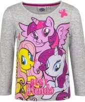 My little pony shirt grijs lange mouwen