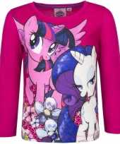 My little pony shirt roze lange mouwen
