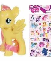 My little pony speelfiguur fluttershy stickers