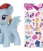My little pony speelfiguur rainbow dash stickers