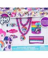 X my little pony haaraccessoires sieraden set meisjes