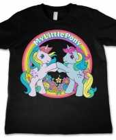 Zwart shirt my little pony kids